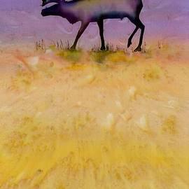 Carolyn Doe - Caribou on the Tundra 2