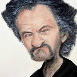 Jim Fitzpatrick - Caricature of Robert De Niro as Louis Gara in the Movie Jackie Brown