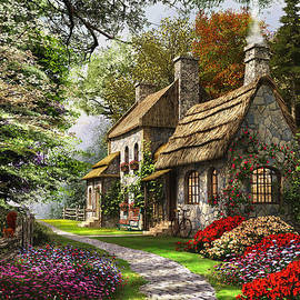 Carnation Cottage - Fine Art