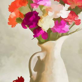 Regina Geoghan - Carnations in a Vase