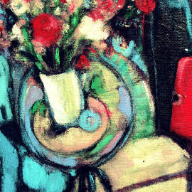 Tolere - Carnations in White Vase