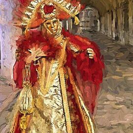 Shannon Story - Carnival Venice In Red
