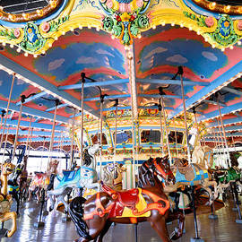 Amy Cicconi - Carousel at Kennywood Park Pittsburgh Pennsylvania