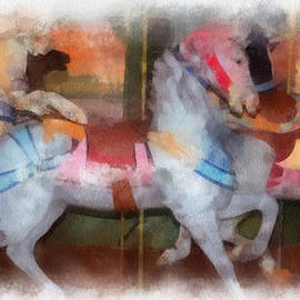 Thomas Woolworth - Carousel Horse Photo Art 01
