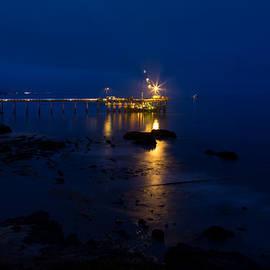 John Daly - Carpinteria Blue and Gold
