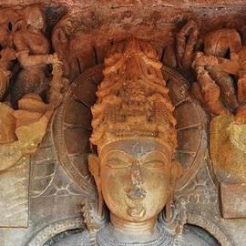 Kim Bemis - Statue at the Temple of the 64 Yoginis - Jabalpur India