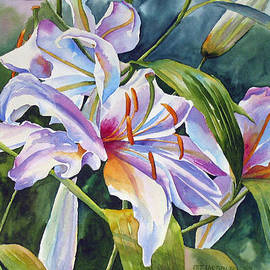 Pat Yager - Casa Blanca Lilies
