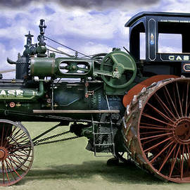 F Leblanc - Case 110 Hp Steam Traction Engine