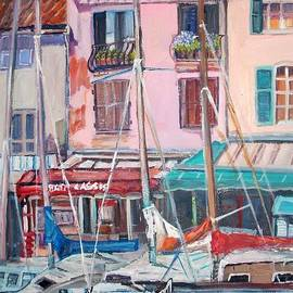 Teresa Dominici - Cassis Harbor in France