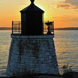 Marianne Campolongo - Castle Hill Lighthouse sunset Newport RI