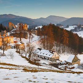 Milan Gonda - castle in northen Slovakia