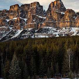 Levin Rodriguez - Castle Mountain at Sunset