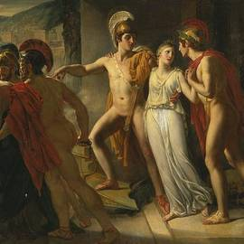 JEAN-BRUNO GASSIES - CASTOR AND POLLUX RESCUING HELEN
