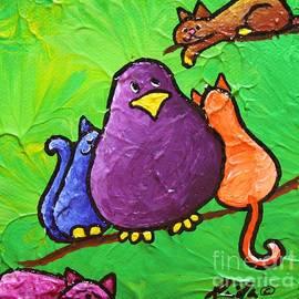 LimbBirds Whimsical Birds - Cat Bird