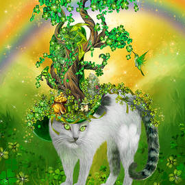 Carol Cavalaris - Cat In Blarney Garden Hat