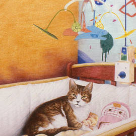 Phil Welsher - Cat in the Crib