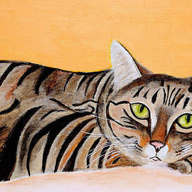 Art by Danielle - Cat looking at you