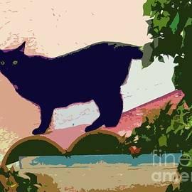 Barbie Corbett-Newmin - Cat on a Hot Tile Roof