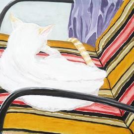 Michael Dillon - Cat Painting
