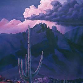 Jerry Bokowski - Catalina Mountain Sunset