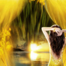 Giada Rossi - Catching the sunset - fantasy art by Giada Rossi
