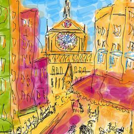 Andrzej Goszcz  - Cathedrale Notre Dame de Paris. I LOVE PARIS - J adore Paris . The Young Rebels Movement.