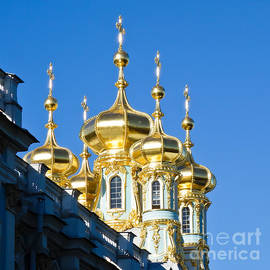 Pete Edmunds - Catherine Palace Spires - Pushkin - Russia
