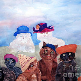 Sandy McIntire - Cats in Hats