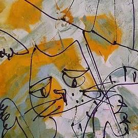 Sonja  Zeltner - Cats With Umbrella 3