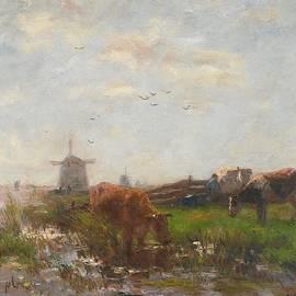 Willem Maris - Cattle Grazing