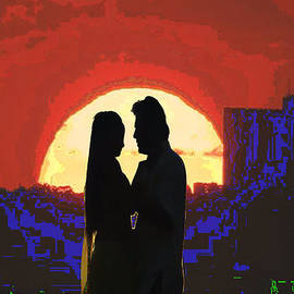 Navin Joshi - Cave Style Shadow Art  Dream Arched Getaway to other world  Love Romance Taboo society reltionships