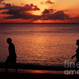 Sheldon Kralstein - Cayman Island Sunset