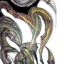 Ricardo Mester - Celestial bird from dark to light