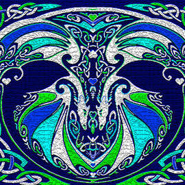 Michele  Avanti - Celtic Love Dragons