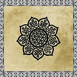 Kandy Hurley - Celtic Shield Knot Symbol Golden