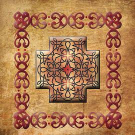 Kandy Hurley - Celtic Square Cross Framed