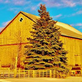 Daniel Thompson - Centenial plus a Score Farm Barn