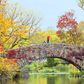 Regina Geoghan - Central Park Autumn Rhapsody