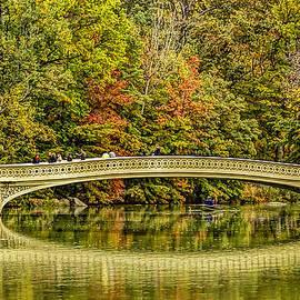 Geraldine Scull   - Central Park Fall Scenic