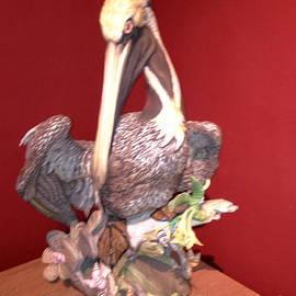 Joseph Baril - Ceramic Pelican