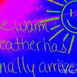 Ed Weidman - Chalkboard Forecast