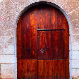 Tina M Wenger - Chapel door