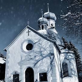 Elzbieta Fazel - Chapel in the silver snow