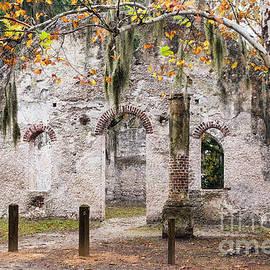 Dawna  Moore Photography - Chapel of Ease Ruins St. Helena Island South Carolina