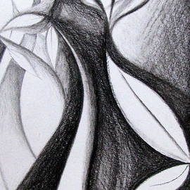 Prajakta P - Charcoal art abstract
