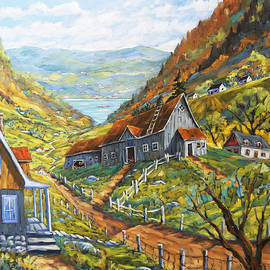 Richard T Pranke - Charlevoix Valley by Prankearts