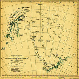 MotionAge Designs - Chart to illustrate the paper on the drift of the Endurance antarctica 1918