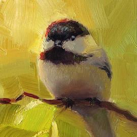 Karen Whitworth - Chatty Chickadee - Cheeky Bird