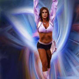 Blake Richards - Cheerleader Art