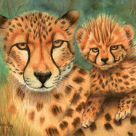 Christelle Grey - Cheetah and Cub